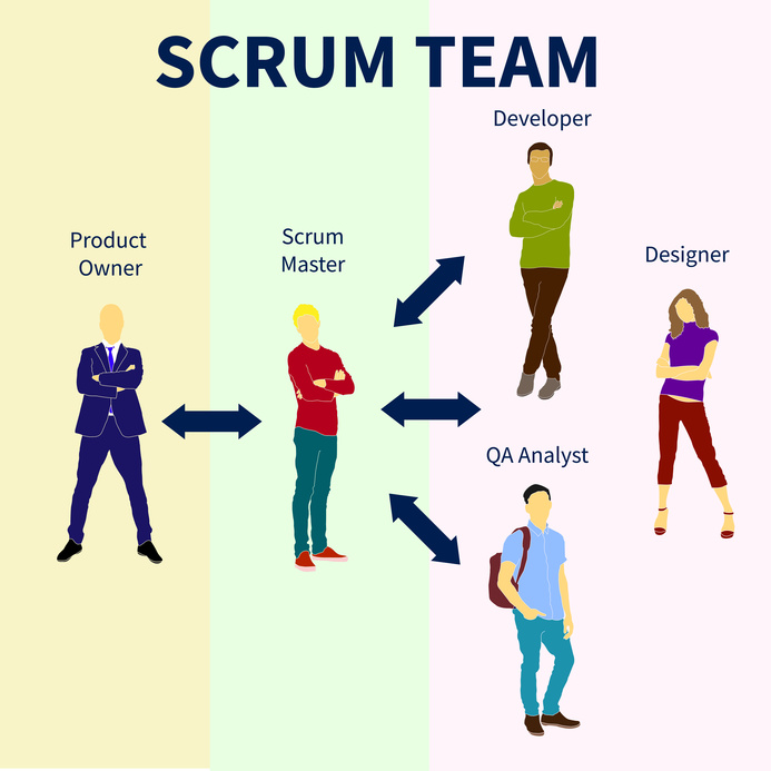 Scrum Team - Product Owner - Scrum Master