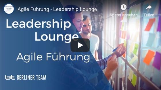 Unser YouTube Video zum Thema Agile Führung ist online!
