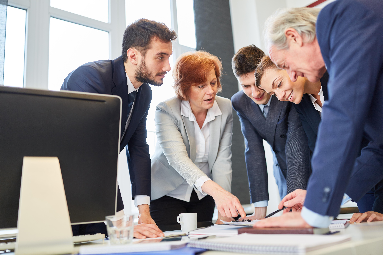 Führung Meeting Leitbild