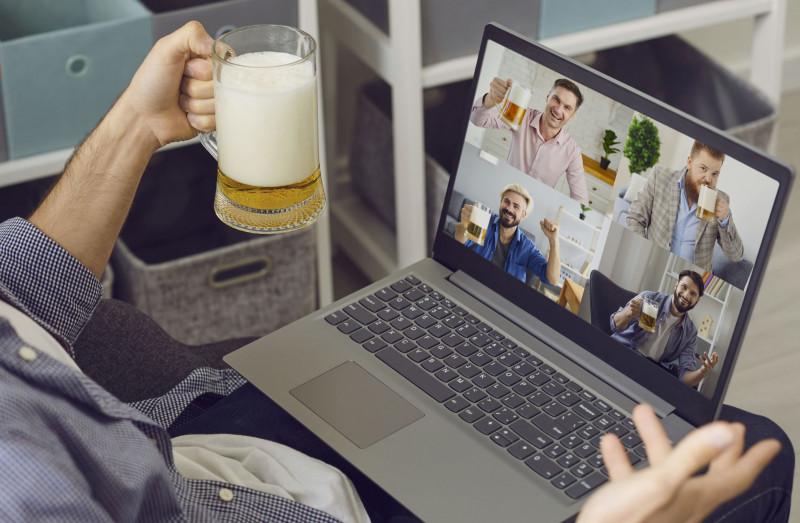 Online Meeting Mit Spass