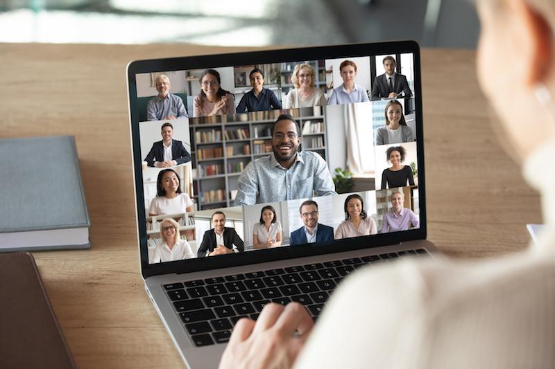 Online Meeting Teilnehmer